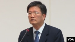 Wu Dang-jie, vice chairman of Taiwan's Financial Supervisory Commission, in Taipei.