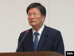 台湾金融监督管理委员会副主委吴当杰(美国之音张永泰拍摄)