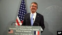 Ashton Carter, secrétaire américain à la Défense