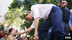 El presidente encargado, Juan Guaidó, dijo además que ven inverosímil una negociación con el oficialismo.