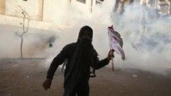 ناآرامی های روز شنبه ، چهارم فوریه در مقابل وزارت کشور مصر - قاهره