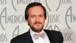 Singer and songwriter Roger Miller arrives at the American Music Awards in Los Angeles in 1987