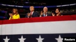 特朗普總統競選團隊6月18日在佛州為明年競選連任造勢。