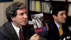 Brad Adams (left), Asia director for Human Rights Watch.