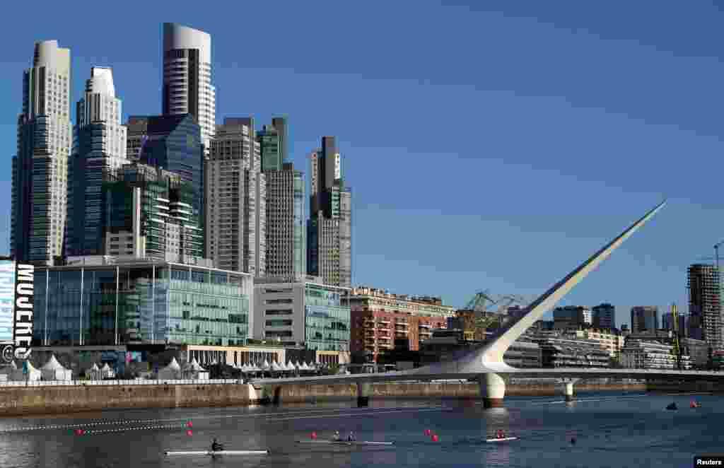 نمایی ازشهر بوئنوس آیرس آرژانتین محل برگزاری سومین دوره بازیهای المپیک جوانان از ۶ تا ۱۸ اکتبر