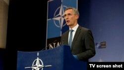 Generalni sekretar NATO-a Jens Stoltenberg u Briselu, 24. novembar 2015.