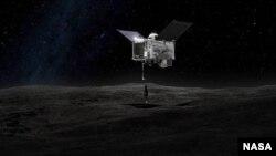Pesawat OSIRIS_REx milik NASA memulai misi ke asteroid Bennu. (Foto: NASA)