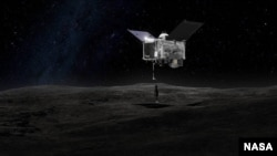 ອົງການ NASA ສົ່ງຍານອະວະກາດ ໄປປະຕິບັດງານ ທີ່ໂງ່ນຫີນຫຼື asteroid Bennu.