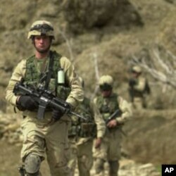 US soldiers in the Baghran river valley searching for Taliban hide-outs (file photo)