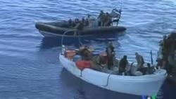 2011-12-02 粵語新聞: 英國海軍在索馬里沿海逮捕7名海盜嫌犯