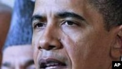 امریکی صدر براک اوباما افغان صدر حامد کرزئی (فائل فوٹو)