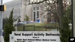 Pusat Medis Militer Nasional Walter Reed di Bethesda, Md, 27 November 2018.