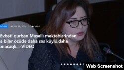 bakupress.az saytının rəhbəri Şəfəq Ağacan