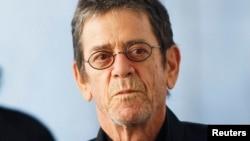 美国摇滚乐先驱卢.里德在2011年3月24日于纽约市林肯中心