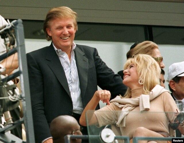 presidential race donald trumps wife ivana trump talks immigration women