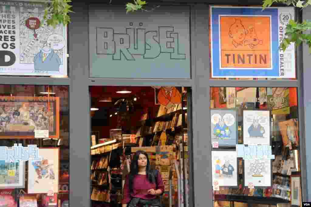 بروکسل در آستانه نشست کشورهای عضو سران ناتو - بروکسل شهر کارتون های مصور است. از جمله «تن تن» که توسط «ژرژ رمی» در بلژیک خلق شد. «داستان های تن تن و میلو» در ۷۰ زبان منتشر شده است.