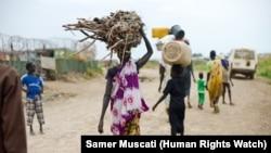 O conflito no Sudão do Sul fez milhares de refugiados