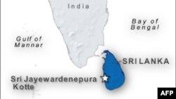 斯里蘭卡位置圖