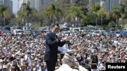 Митт Ромни в Сан-Диего