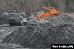 вугілля біля шахти, Пенсильванія