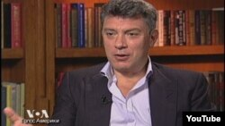 YouTube screen grab Nemcov at VOA