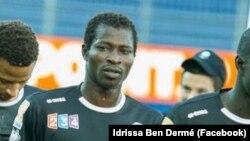 Photographie du footballeur burkinabé décédé le 11 septembre 2016 lors d'un match. (Facebook/ Idrissa Ben Dermé)