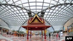 Phi trường quốc tế Suvarnabhumi ở Bangkok, Thái Lan