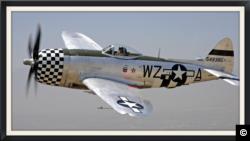 ქართველის ლეგენდარული თვითმფრინავი P-47, ფოტო კრედიტი: www.alexanderkartveli.com