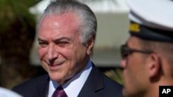 Shugaban Brazil Michel Temer