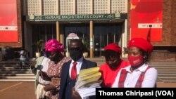 Lawyer Bamu and MDC Trio