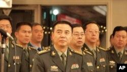 中国军官访日团