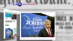 VOA60 Elections - The Huffington Post: Libertarian Gary Johnson joins the race for presidency