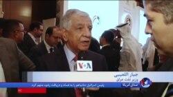 گفتگوی علی جوانمردی با مقامات عراقی در حاشیه نشست بازسازی عراق در کویت