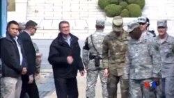 2015-11-01 美國之音視頻新聞: 美國國防部長卡特敦促北韓放棄核武器