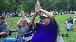 美国消暑良方—树林音乐会