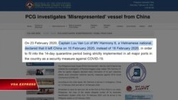 Truyền hình VOA 29/2/20: Philippines điều tra thuyền viên Việt khai man tránh kiểm dịch corona
