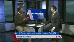 Washington Forum du jeudi 1er décembre 2016 : Fidel Castro et ses liens avec l'Afrique