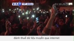 Hungary gác lại kế hoạch đánh thuế dữ liệu truyền qua internet (VOA60)