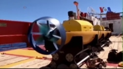Úc thả robot tìm kiếm dưới nước tìm mảnh vỡ máy bay