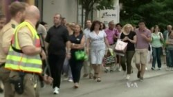 ویدئوی صحنه حمله و تیراندازی به مردم در مرکز خریدی در مونیخ