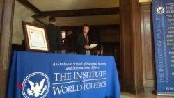 საქართველო გზაჯვარედინზე: ბენჯამინ ფრიკის ლექცია