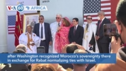 VOA60 Africa - US Launches Work on Consulate in Disputed Western Sahara