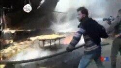 2015-11-08 美國之音視頻新聞: 人權組織指責俄羅斯在敘利亞空襲導致平民死亡