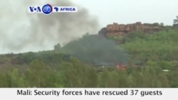 VOA60 Africa - 2 Guests, at Least 4 Terrorists Dead after Attack on Malian Resort