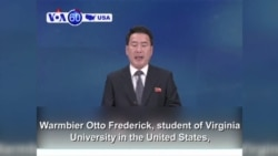 VOA60 America- North Korea arrests American student