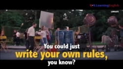 Học tiếng Anh qua phim ảnh: Write your own rules - Phim La La Land (VOA)