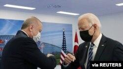 Cumhurbaşkanı Erdoğan ve ABD Başkanı Biden