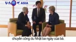 Thủ tướng Anh hội kiến Nhật hoàng