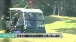 VOA连线:川普与日韩领导人谈经贸朝核,并建立私人友谊