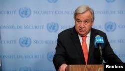 آنتونیو گوترش دبیرکل سازمان ملل متحد - آرشیو